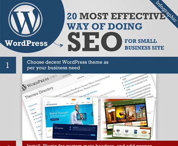 20 WordPress SEO Guide [Infographic]